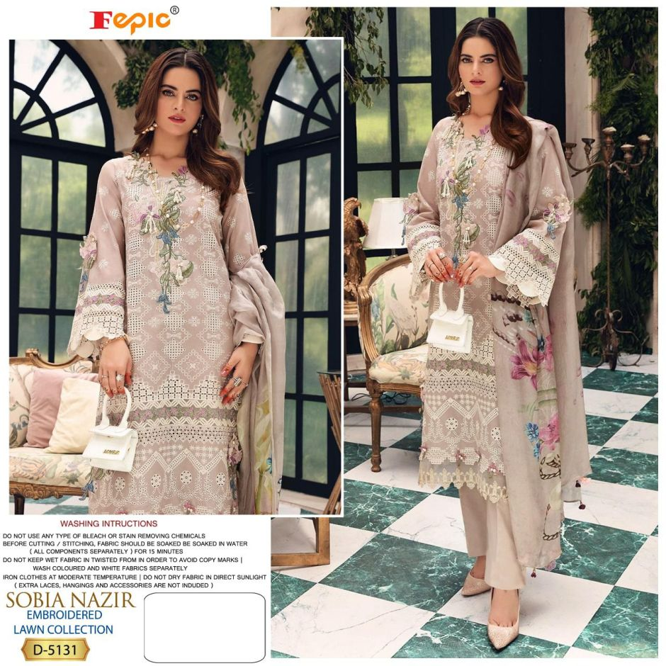 fepic sobia nazir embroidered lawn collection salwar kameez surat
