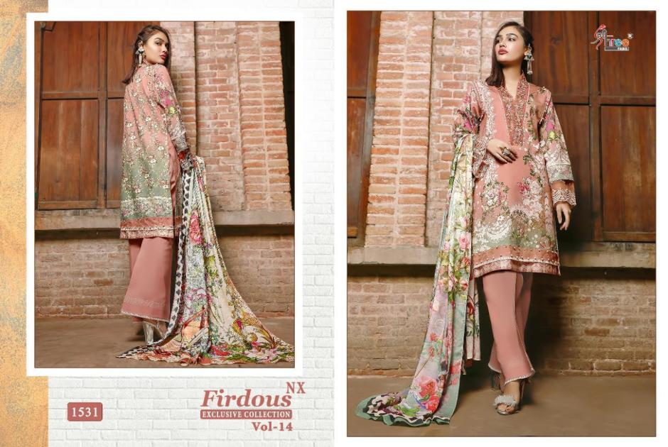 shree fabs firdous exclusive collection vol nx catalogue wholesale price