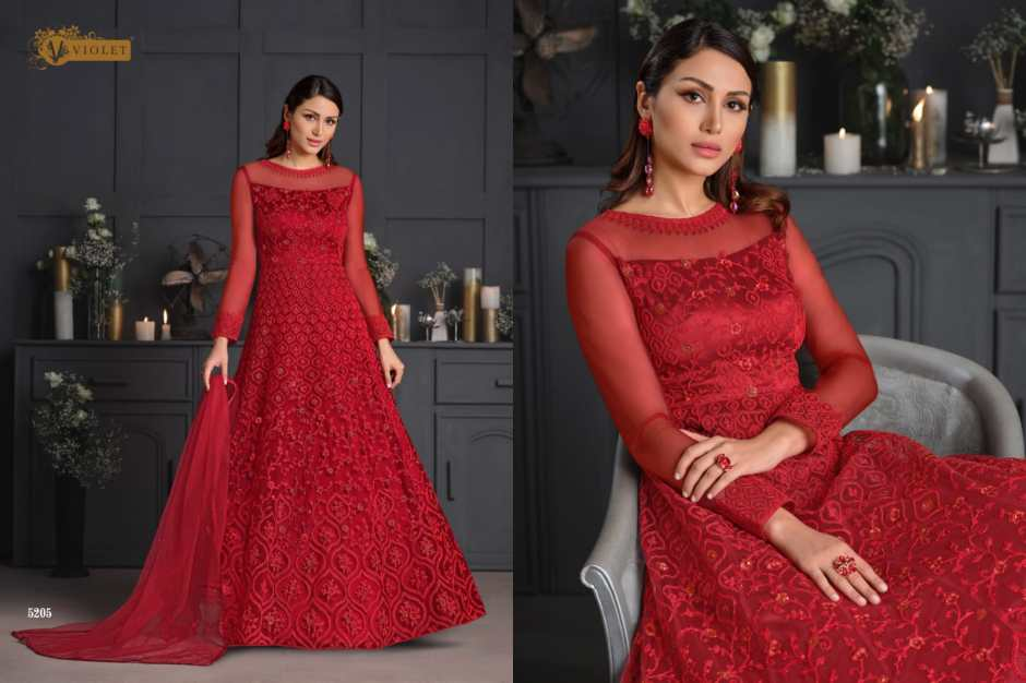 swagat violet series party wear collection surat
