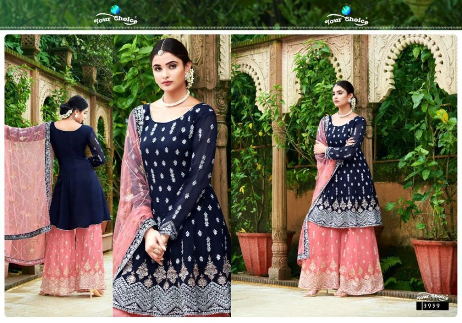 your choice glories series party wear suits catalogue surat