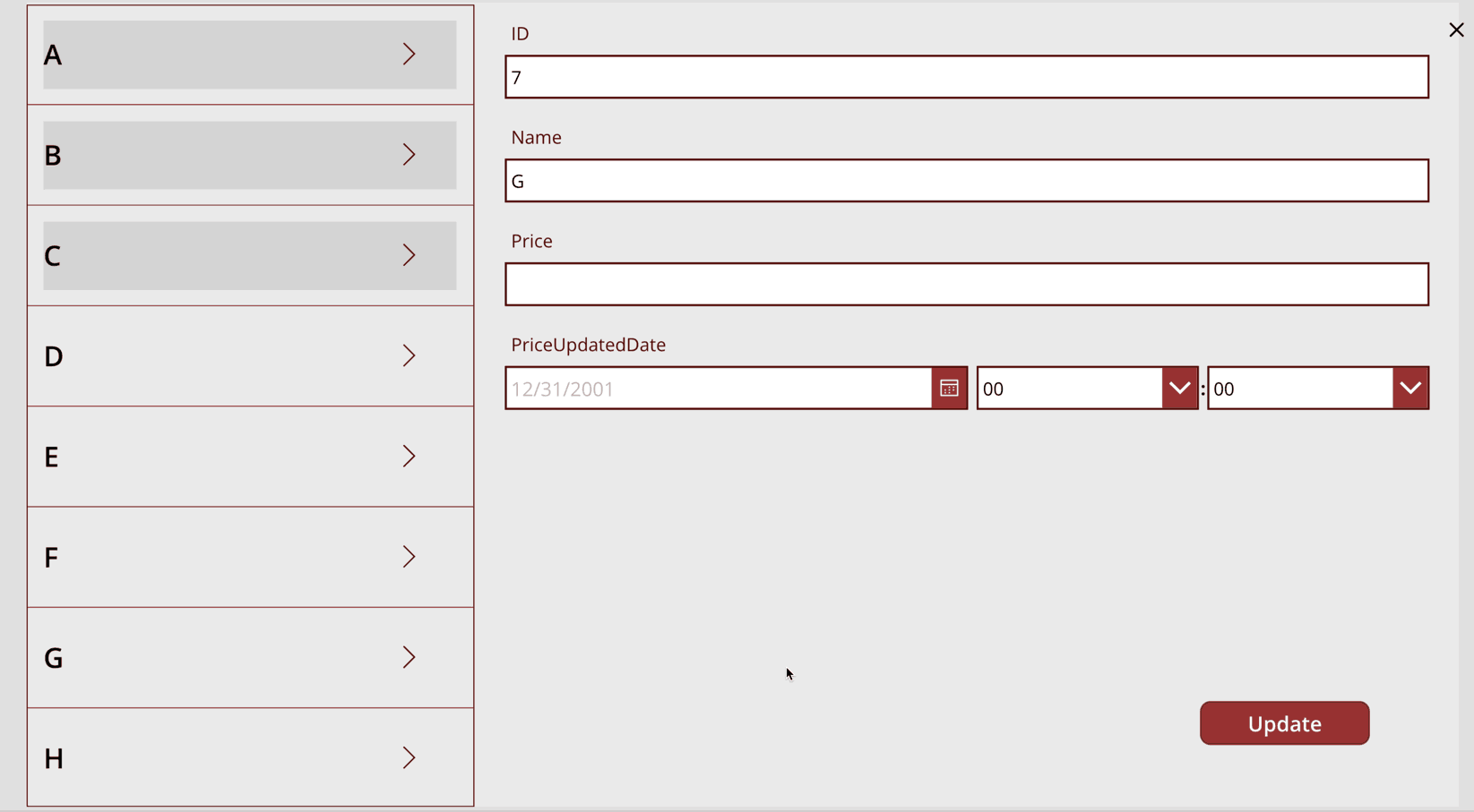 PowerApps and Sharepoint List-Identify which detail item has already