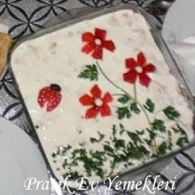 Çiçekli Patates Salatası
