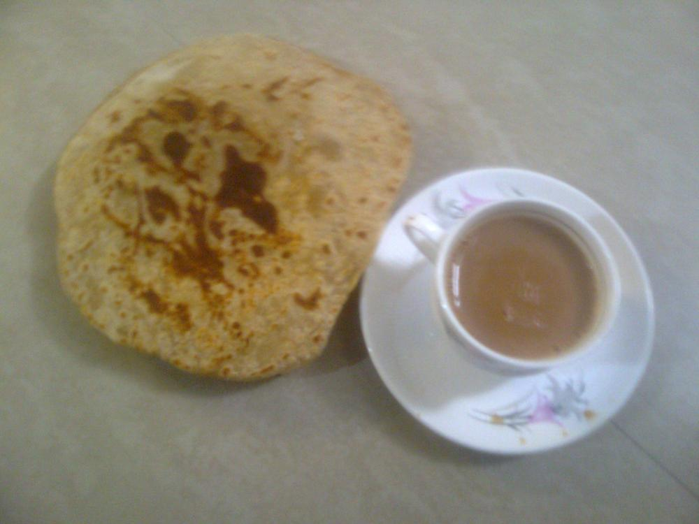 The making of my first 'Chapati' (4/4)