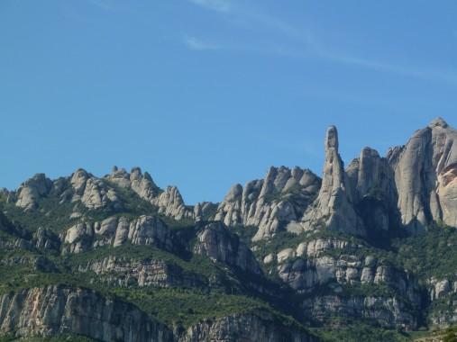 The serrated mountain, Montserrat