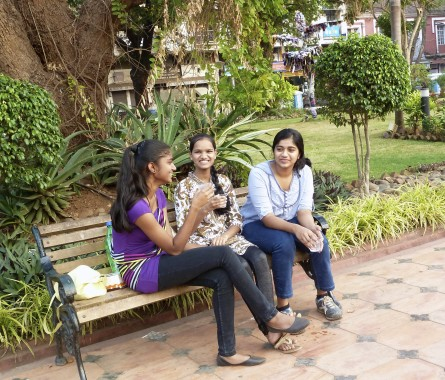 Panjim park- 10th class girls with perfect manners