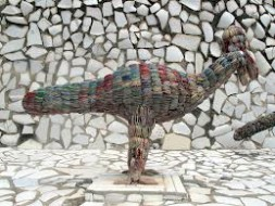 Nek Chand's sculptures, 70 years after Gaudi