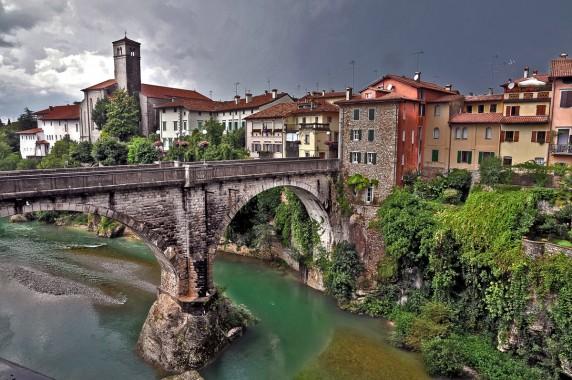 The Devil's Bridge over the Nasitone in Cividale