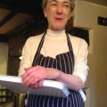 Lisa, chef at The Dun Cow Hornton