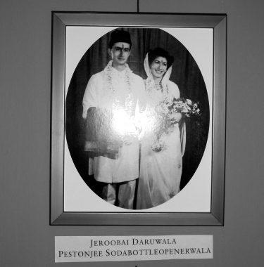 The wedding of Mr and Mrs Sodabottleoperwallah