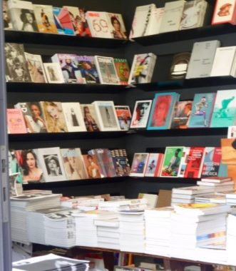 extremely hip bookshop selling lifestyle journals about everything- from building a cabin in the wilderness to celebrating urban living