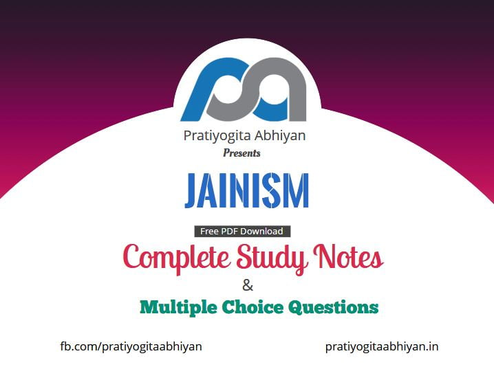 Jainism (Notes+MCQ) PDF Download