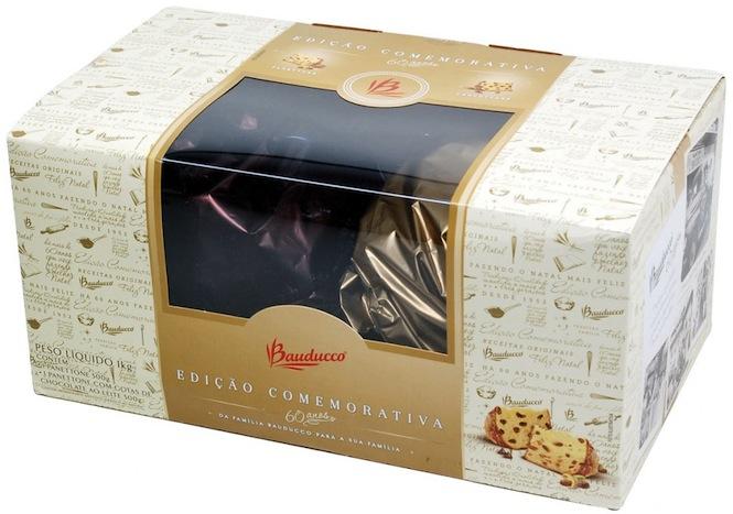 Panettone e Chocottone Bauducco Edição Comemorativa 2012