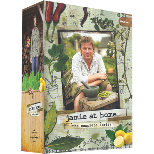 Box DVD Jamie Oliver em Casa