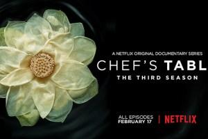 Chef's Table chega à 3ª Temporada na Netflix