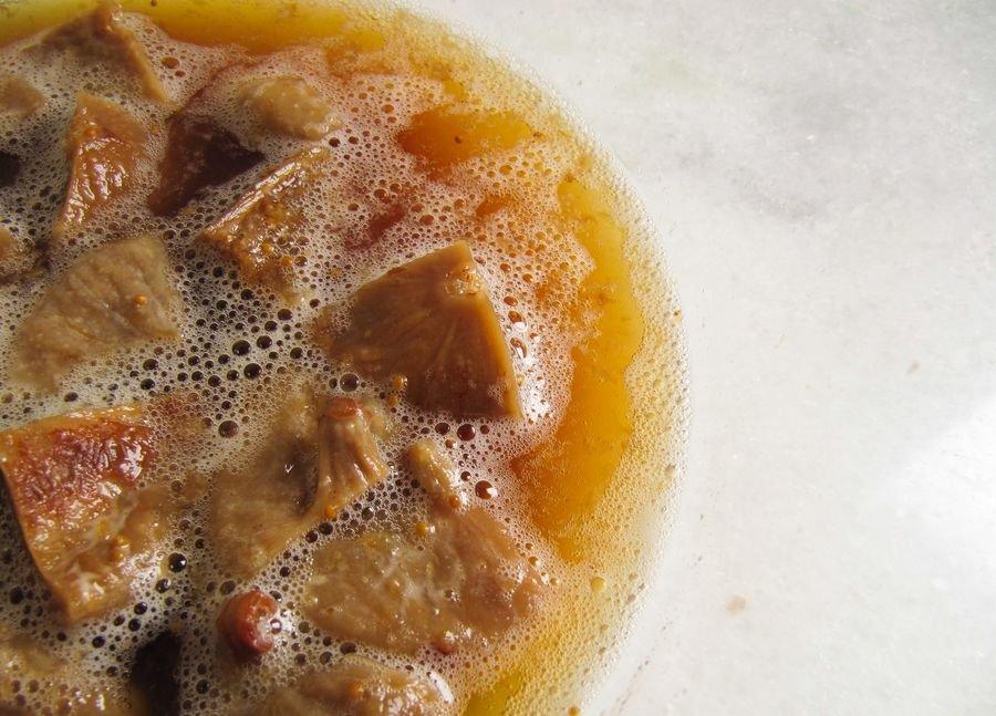 Fermento Selvagem: Dia 3 com bolhas na superfície