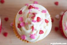 Cupcake de Baunilha Trufado