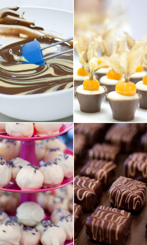Simone Izumi: Aula de Temperagem de Chocolate com Chocolatria