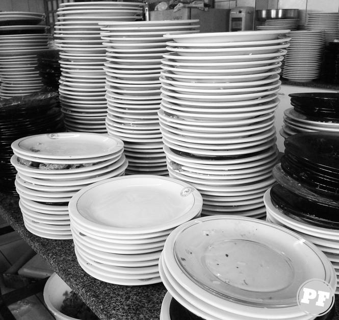 Afinal, Gastronomia Vale a Pena? - Lavar louça via PratoFundo.com