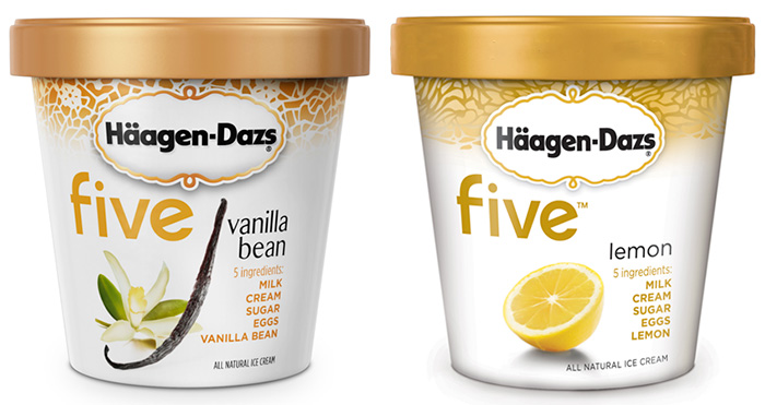 Häagen-Dazs linha Five