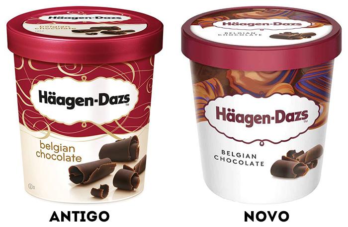 Häagen-Dazs: comparativo