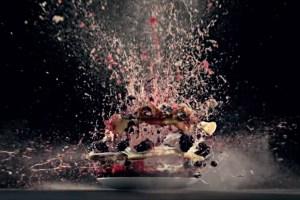 Explosão de Alimentos em Câmera Lenta da Electrolux