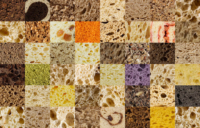 Modernist Bread: Mosaico de Pães