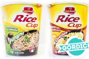 Gordice: Arroz Instantâneo (Rice Cup)