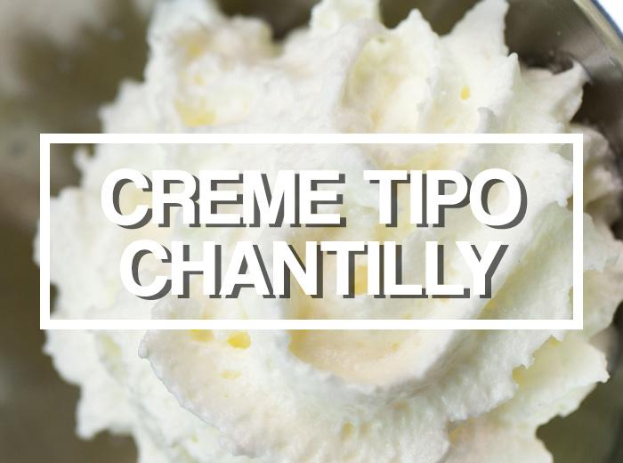 O que é Creme Vegetal e Mistura para Creme tipo Chantilly