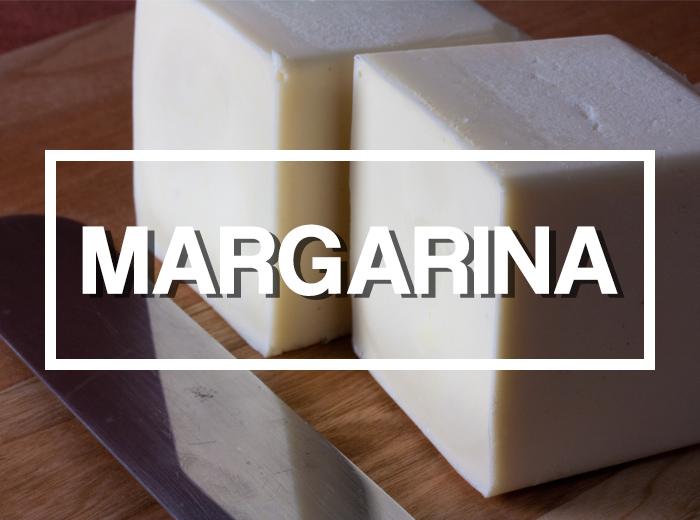 Ingredientes: Margarina