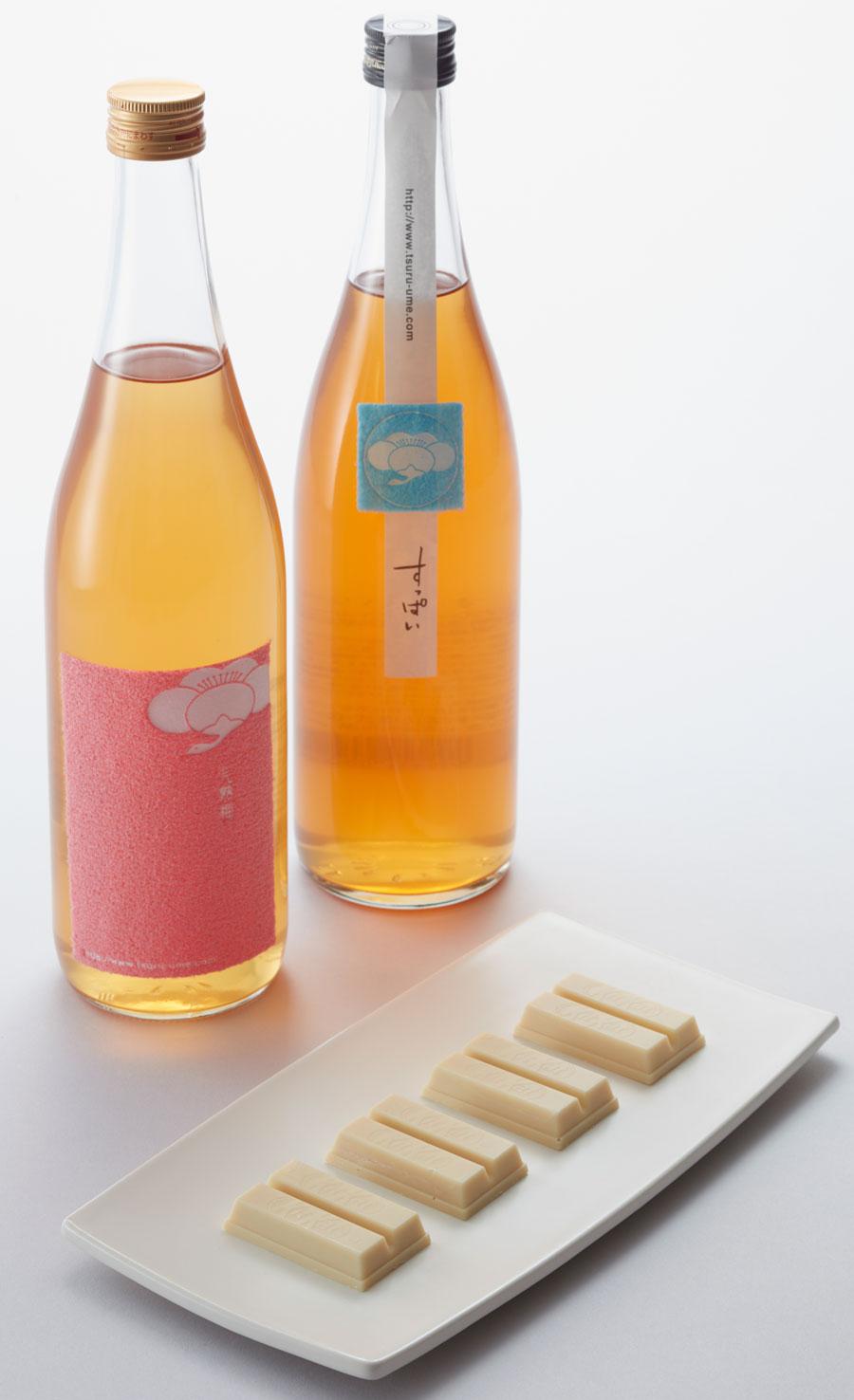 Kit Kat Umeshu: Chocolate e Umeshu
