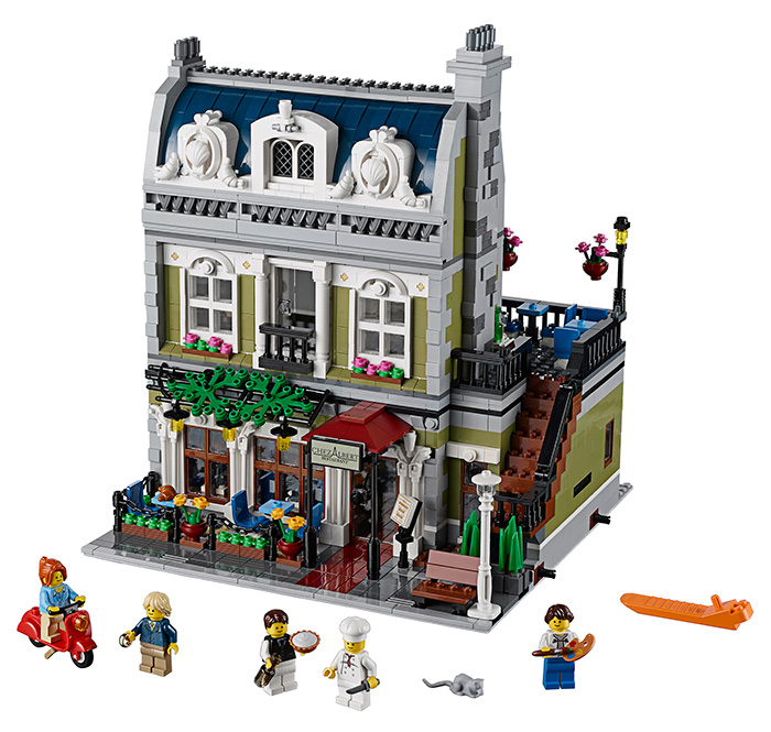 LEGO - Restaurante: frente