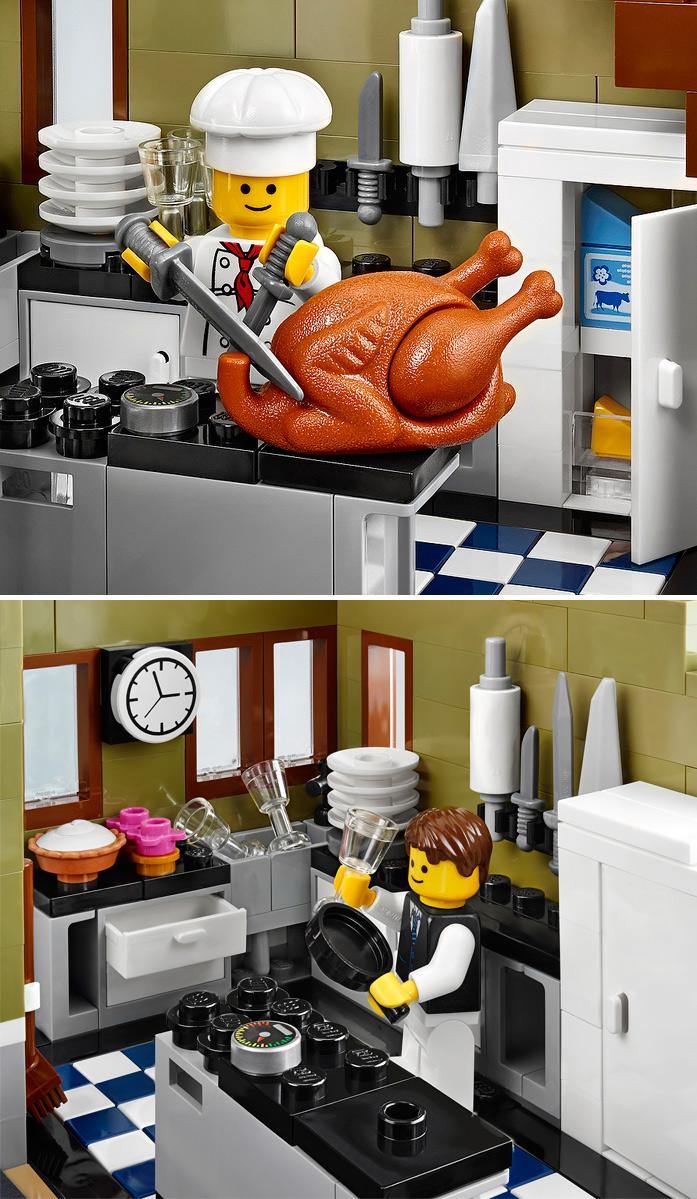 LEGO - Restaurante: cozinha