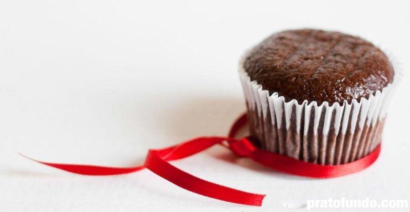 Muffin de Banana e Chocolate por PratoFundo.com