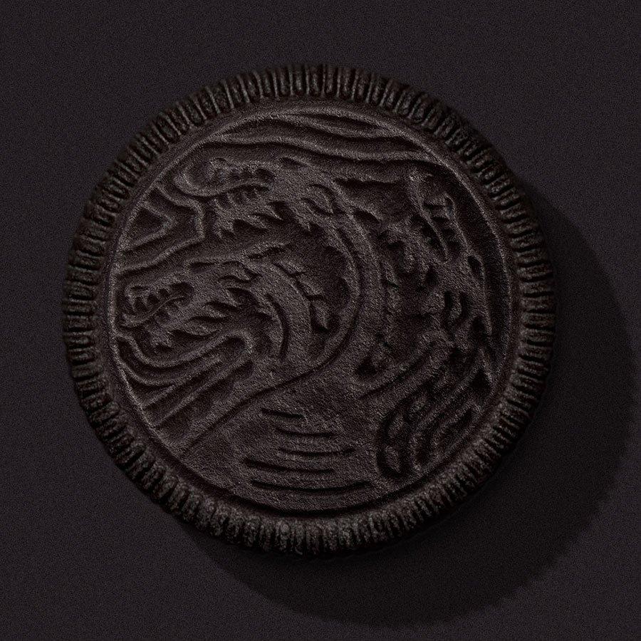 Oreo Targaryen Brasão Dragão de Três Cabeças
