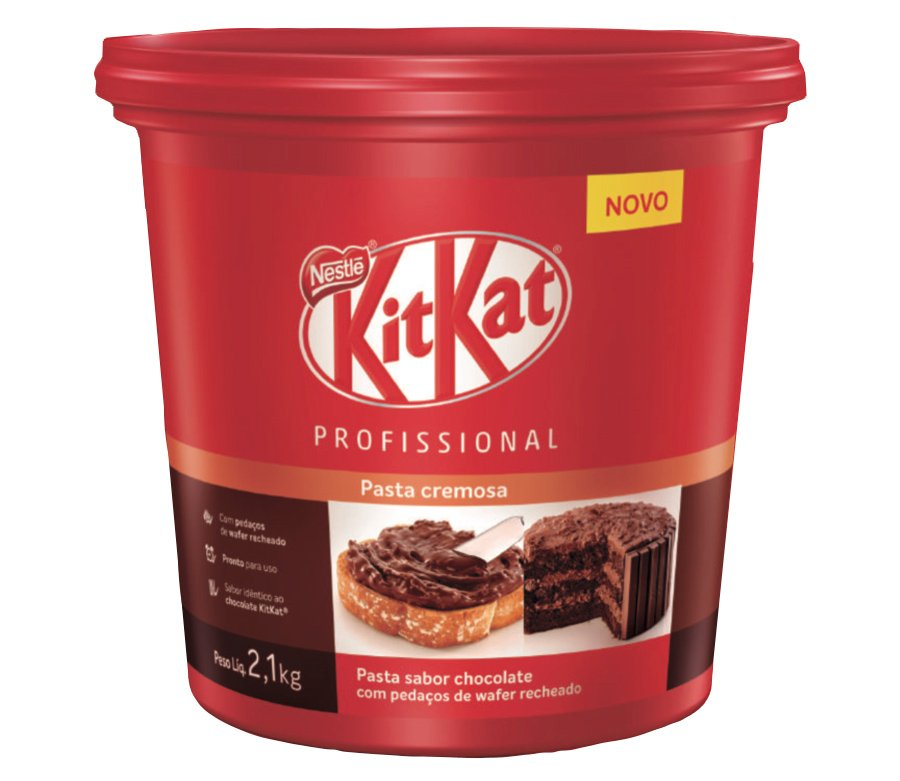 Balda da pasta de Kit Kat para uso no food service