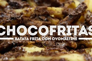 PraComer: Batata Frita com Ovomaltine do Burger King (ChocoFritas)