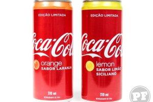 PraComer: Coca-Cola Edição Limitada de Laranja e Limão Siciliano