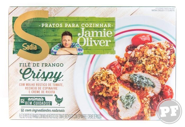 Filé de Frango Crispy do Jamie Oliver