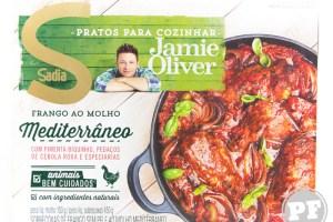 Frango ao Molho Mediterrâneo do Jamie Oliver