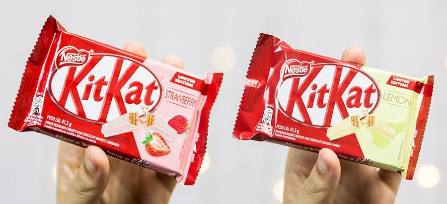 Resenha: KitKat Morango e Limão por PratoFundo.com