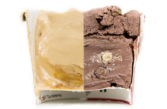Sorvetes Kit Kat e Gelato Caramello Salato (Caramelo Salgado) da Nestlé