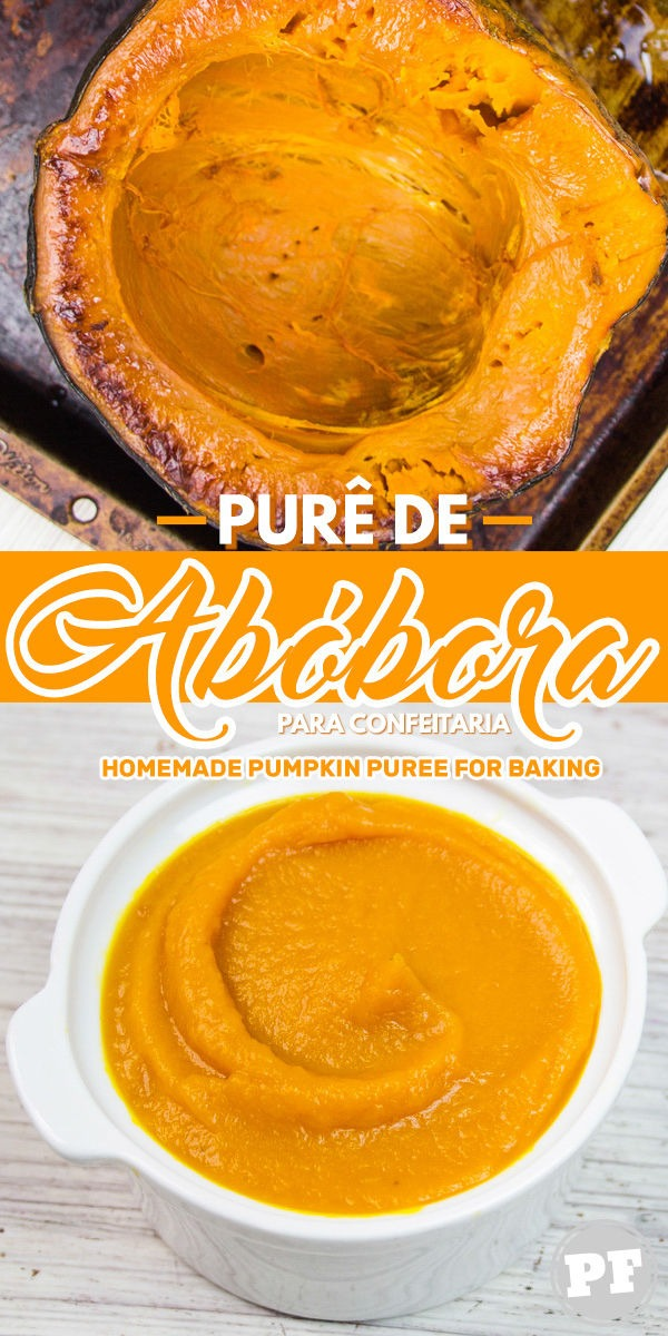 Purê de Abóbora: como fazer em casa para doces por PratoFundo.com