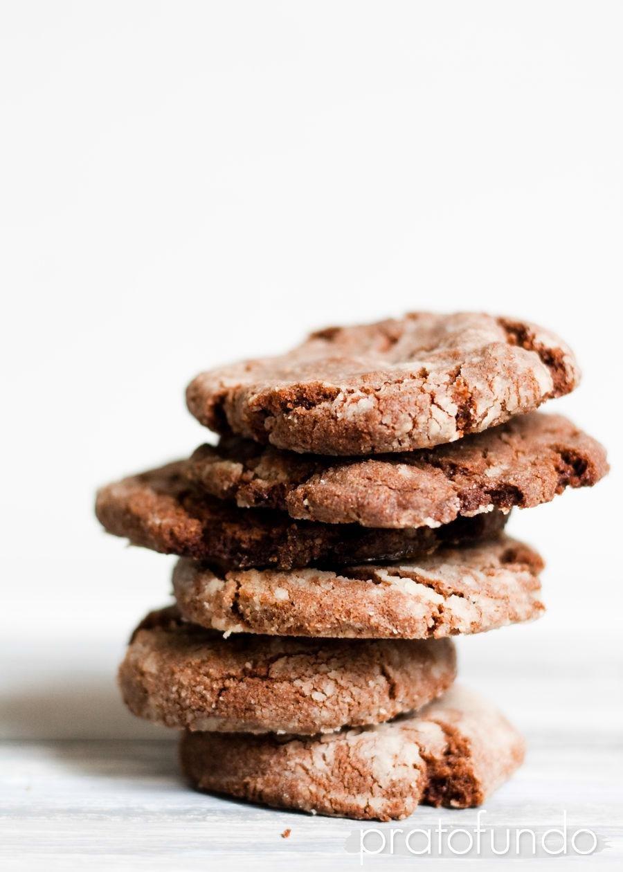 Cookies de Nutella e Chocolate