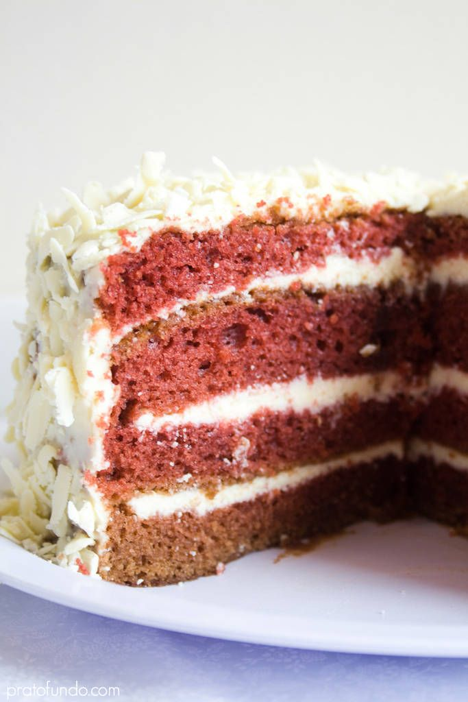 Red Velvet Cake e Chocolate Branco