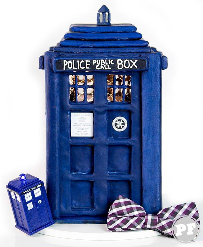 TARDIS: Casinha de Biscoito Americana