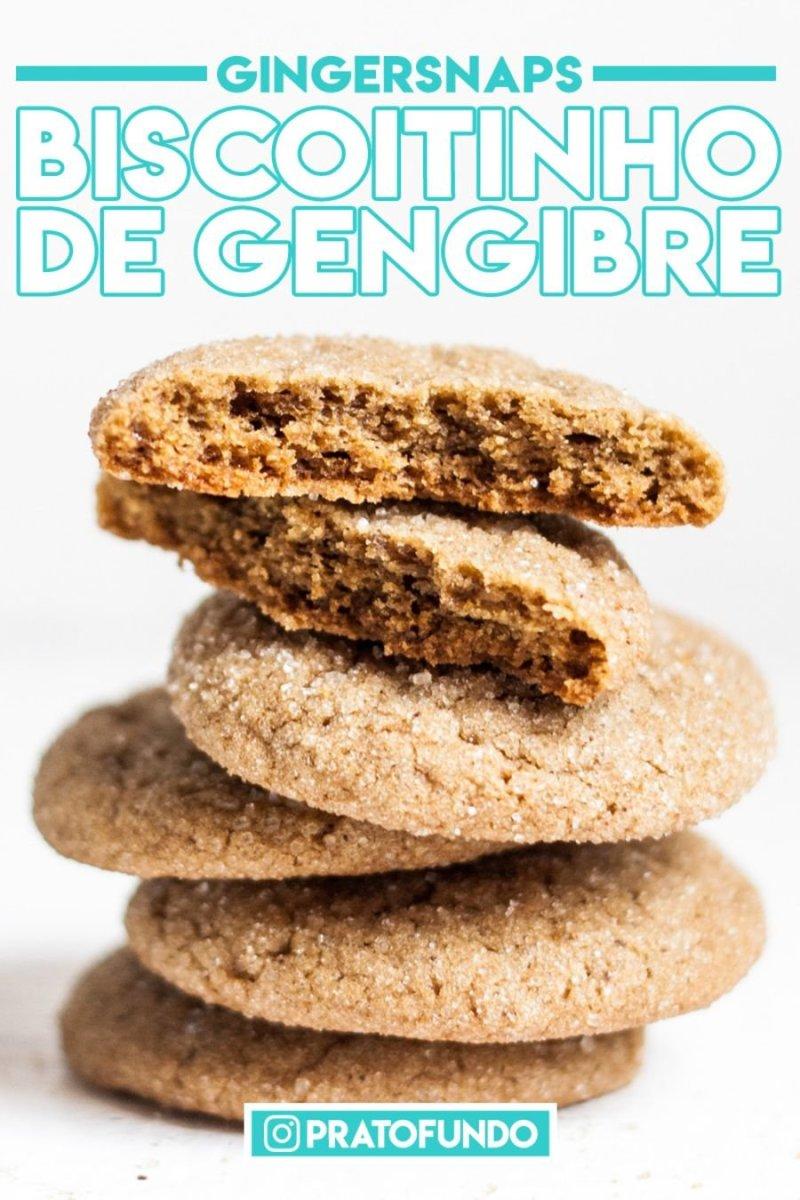 Gingersnaps: Biscoitinhos de Gengibre