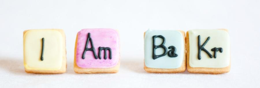 Tabela Periódica Cookies: I Am BaKr