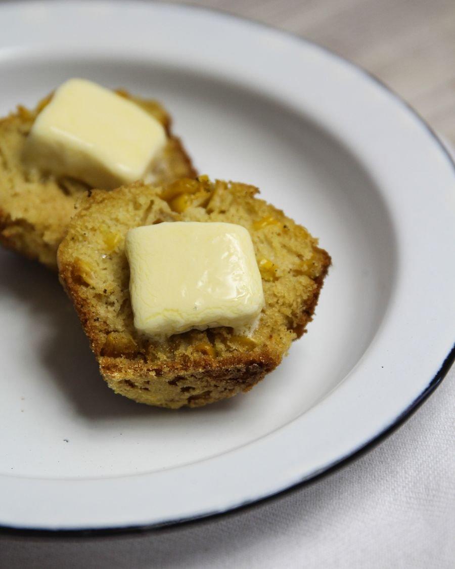Muffin de Fubá e Milho por PratoFundo.com