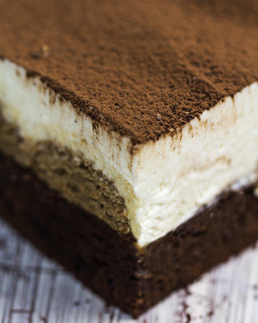 Pavê de Brownie, Nutella e Cream Cheese