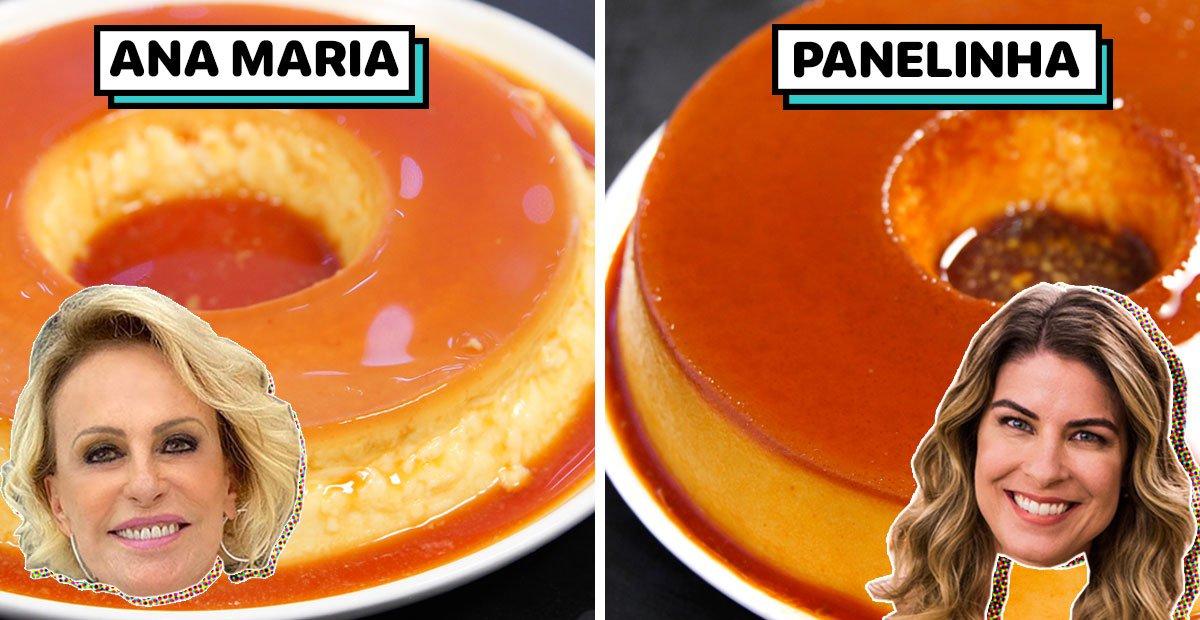 Eu testei: Pudim Sem Furinhos da Ana Maria e Panelinha (Rita Lobo) | PratoFundo